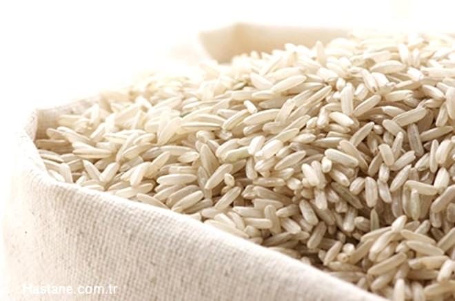 Kepekli pirinç
