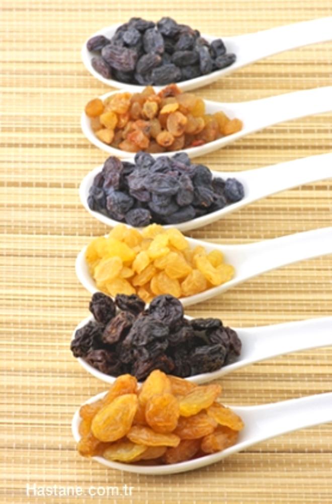 Çekirdekli kuru üzüm