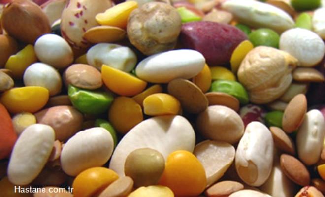 Posadan zengin diyetle beslenmeliyiz (kuru baklagiller, sebze, meyve, tam taneli tahıllar vb.)