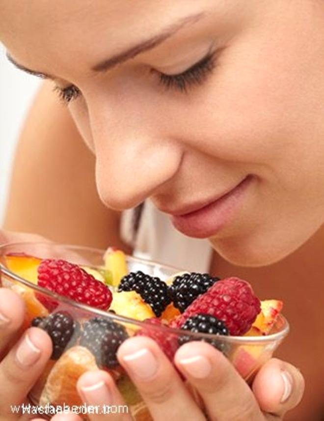 Meyvelerin içindeki şeker, karaciğeri