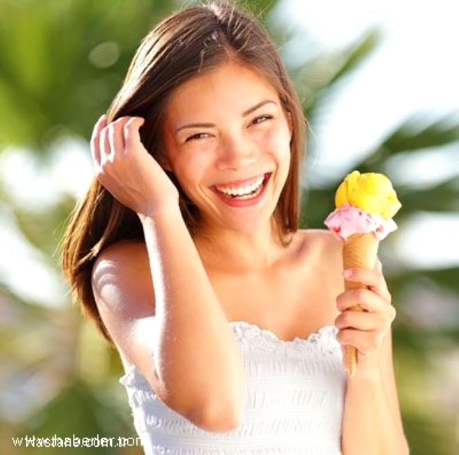 Meyveli dondurmanın daha sağlıklı bir seçim olduğunu düşünmeyin.