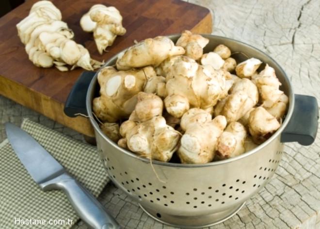 Yer Elması: A vitamini deposudur, kalp sağlığına iyi gelir.