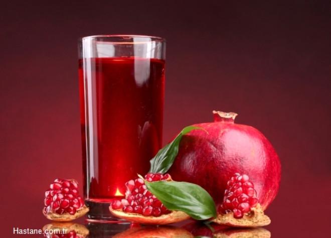Nar Suyu: Kolesterol ve şekeri dengeleyerek kalp sağlığını koruyan nar suyu kanser hücrelerinin gelişmesini de engelliyor. Ayrıca bağırsak parazitlerini de düşürmede etkilidir.