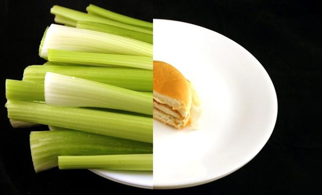 Bazı yiyecekler diğerlerinden daha kalorilidir ki bu fark yiyeceklerin aynı kalorideki miktarlarına bakınca daha net bir şekilde görülüyor. Örneğin 200 kalorilik pırasa bir tabağı doldururken 200 kalorilik tereyağı anca bir çorba kaşığı ediyor.