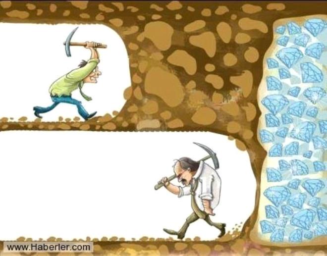 Bir şey zor geldiği zaman pes etmeyin, sona kadar yapabileceklerinizi yapın.
