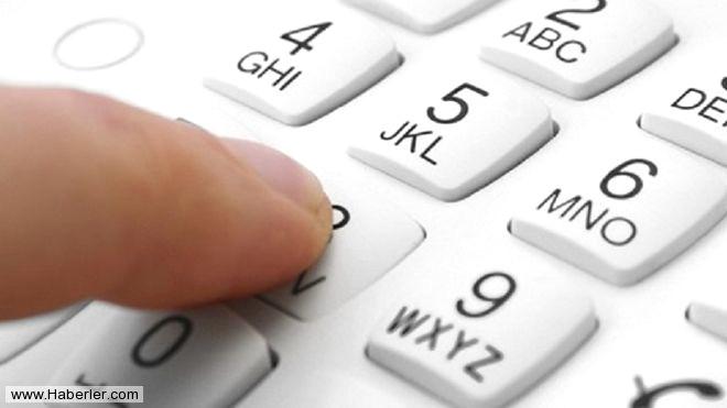 3. Yakınlarınızın Telefon numaralarını ezberleyin.