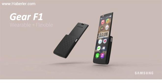 <p>Şu anda akıllı telefonlar, akıllı saatler veya bileklikler farklı cihazlar. Ancak öyle bir telefon modeli düşünün ki, hem klasik akıllı telefon tasarımında olsun hem de istendiği zaman bileklik gibi kullanılabilsin. Tasarımcı Justin Tsui böyle bir konsept modele imza attı. Samsung Gear F1 isimli bu cihaz 4 inç