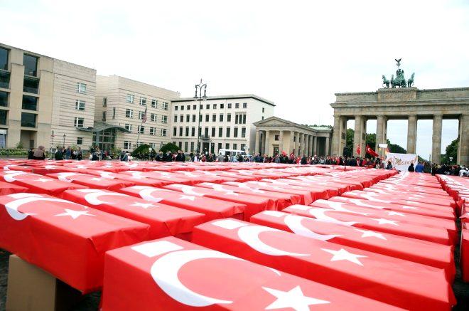 15 Temmuz Demokrasi ve Milli Birlik Günü nedeniyle, FETÖ