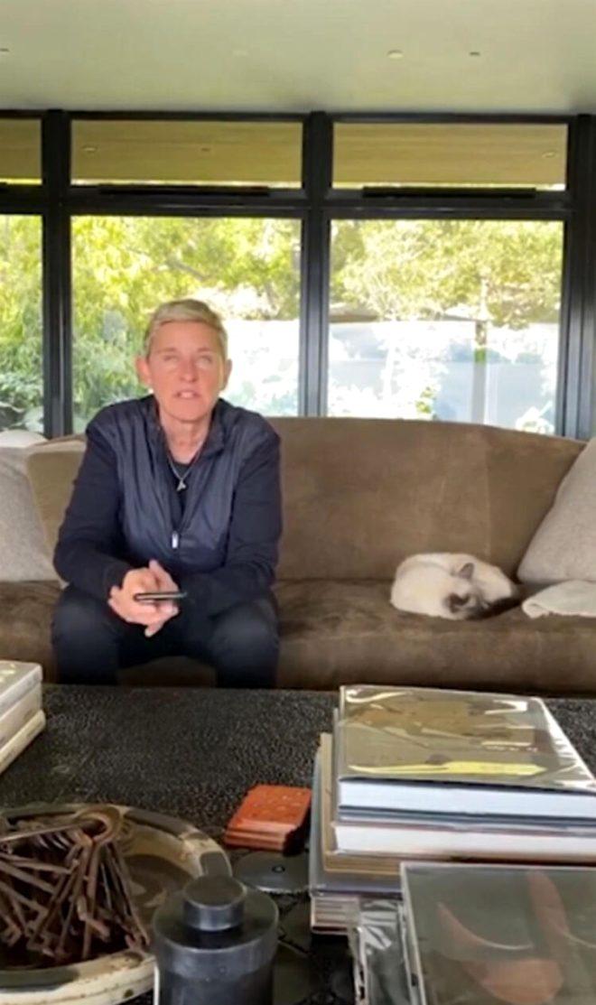 Ellen DeGeneres bir süre önce de TV